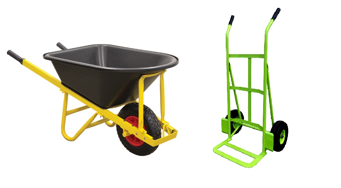 WHEELBARROWS, HANDTRUCKS & TROLLEYS (75)