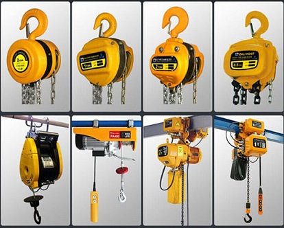WINCHES, HOISTS & BLOCKS (76)